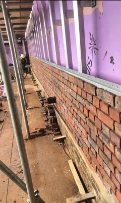 BBA Approved Brick Slip System,A1 non-combustible, BBA certified Brick Slip Runner board by Brictec Systems, mechanical fixed brick slips,brick slip panels,