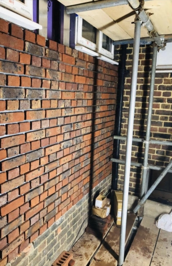 BBA Approved Brick Slip System,A1 non-combustible, BBA certified Brick Slip Runner board by Brictec Systems,mechanical fixed brick slips,brick slip panels,
