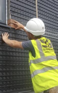 Brick Slip Cladding Systems Brick Panels Mechanical Fixed Brick Slips Brick Slip Panels Brick