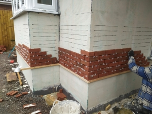 BBA Approved Brick Slip System,A1 non-combustible, BBA certified Brick Slip Runner board by Brictec Systems,